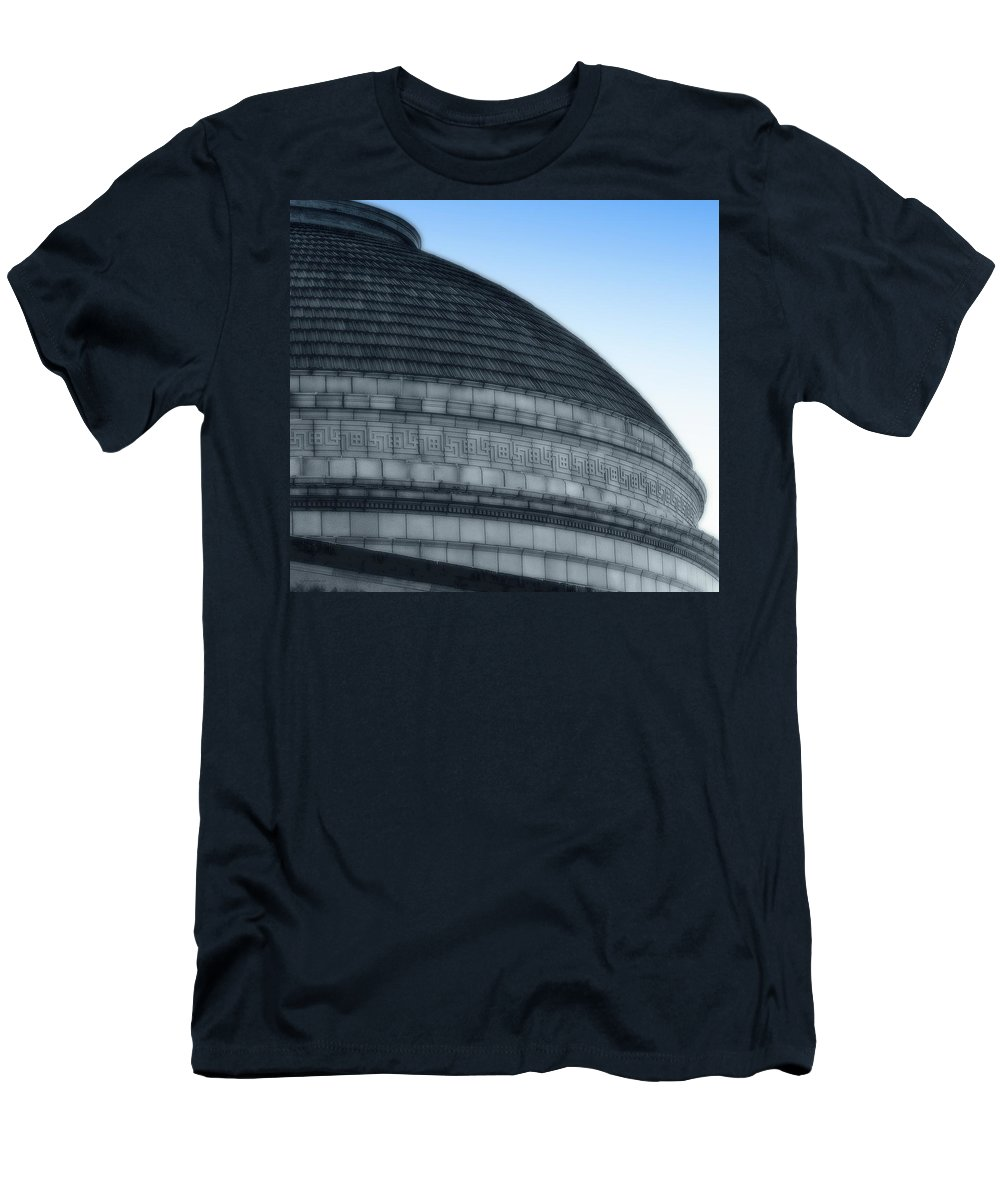 Rightfromtheart Men's T-Shirt (Athletic Fit) featuring the photograph Dome by Bob and Kathy Frank