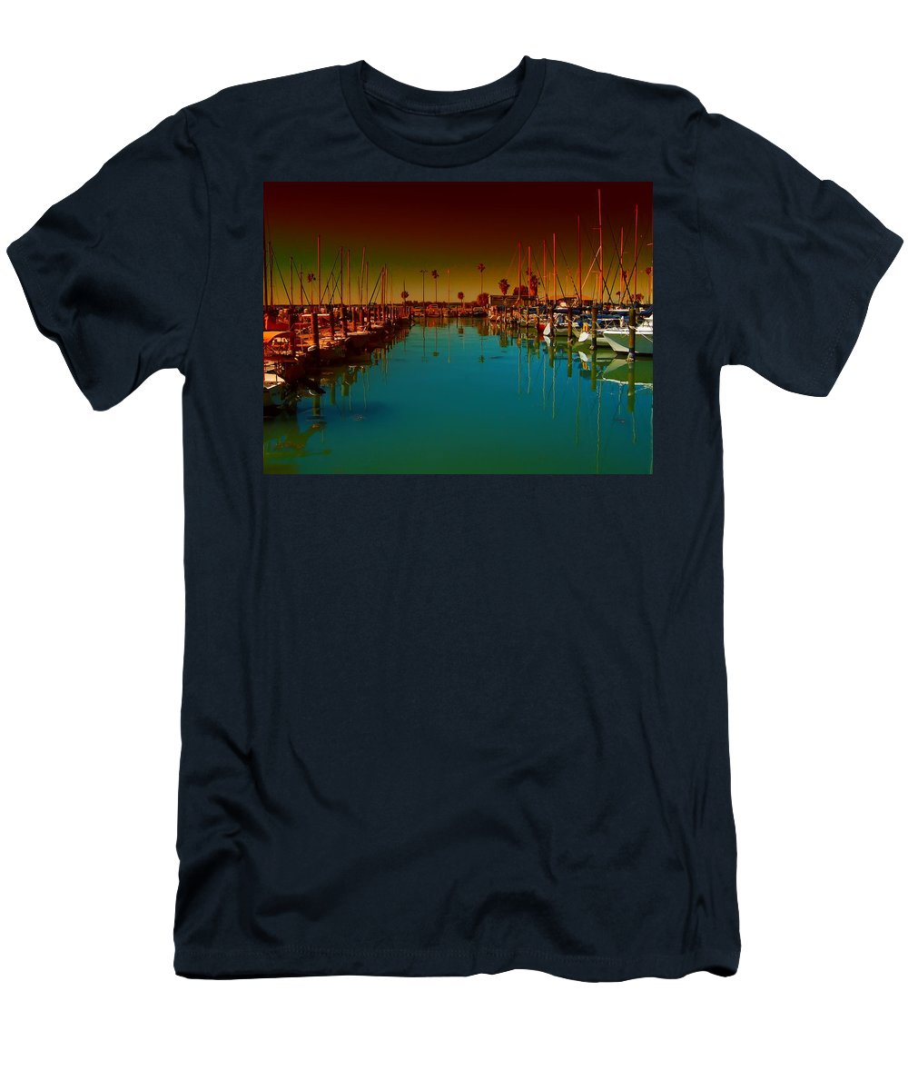 Florida T-Shirt featuring the photograph Dunedin Marina by Bill Cannon