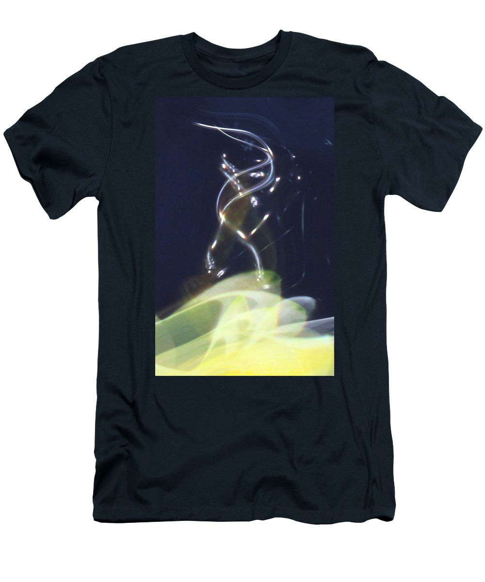 Abstract Men's T-Shirt (Athletic Fit) featuring the digital art Enlightenment by Richard Thomas