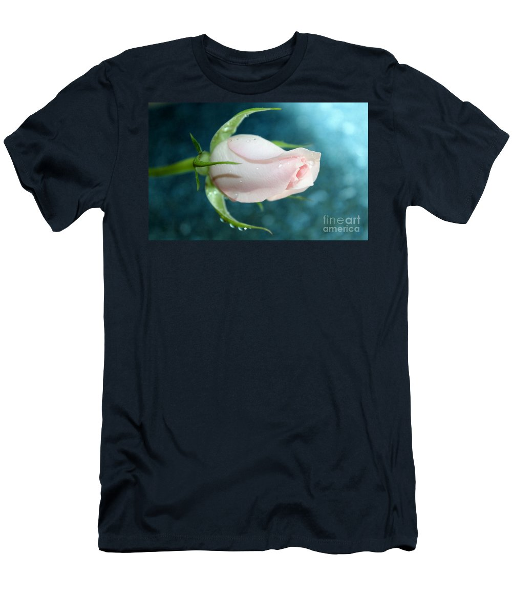 Rose Men's T-Shirt (Athletic Fit) featuring the photograph Eternity by Krissy Katsimbras