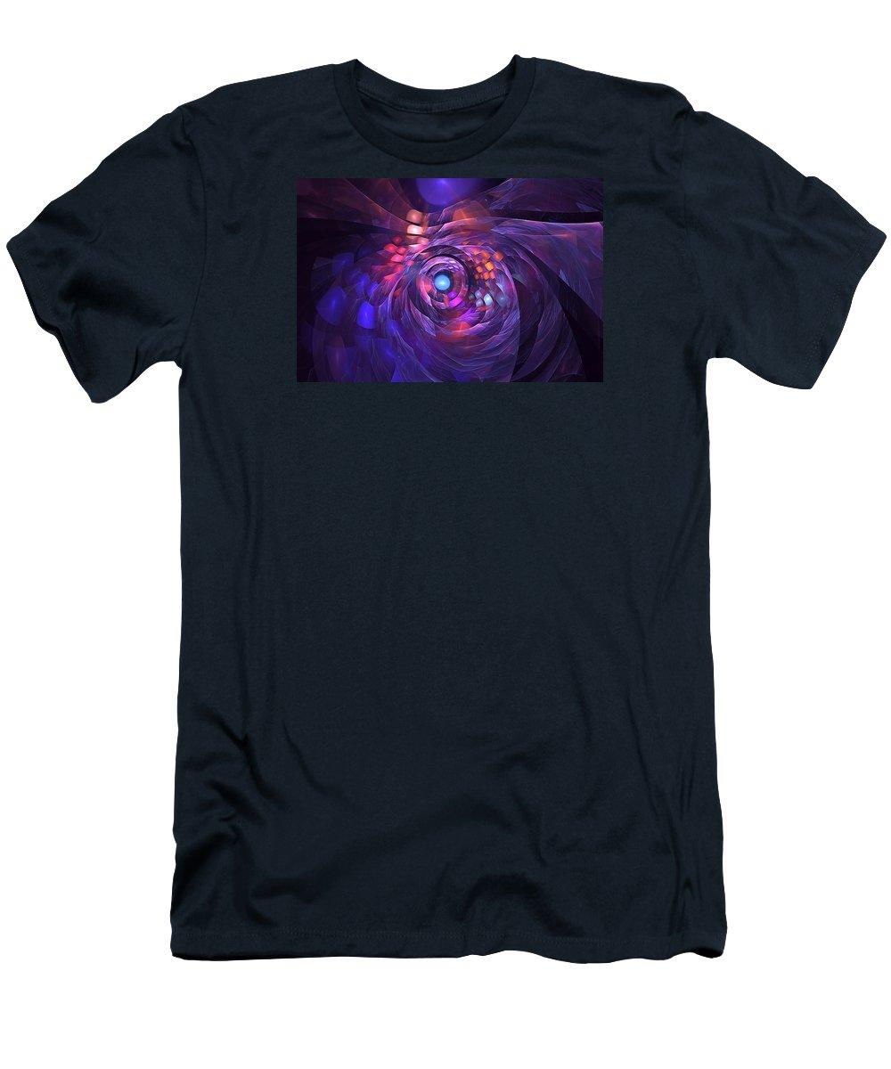 Freya Men's T-Shirt (Athletic Fit) featuring the digital art Freya by Doug Morgan