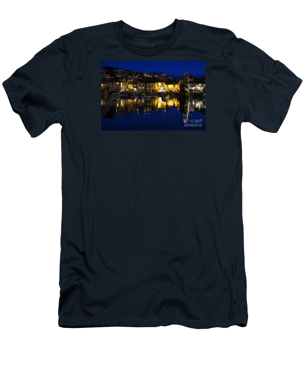 Golden Men's T-Shirt (Athletic Fit) featuring the photograph Golden Hind by Doug Wilton