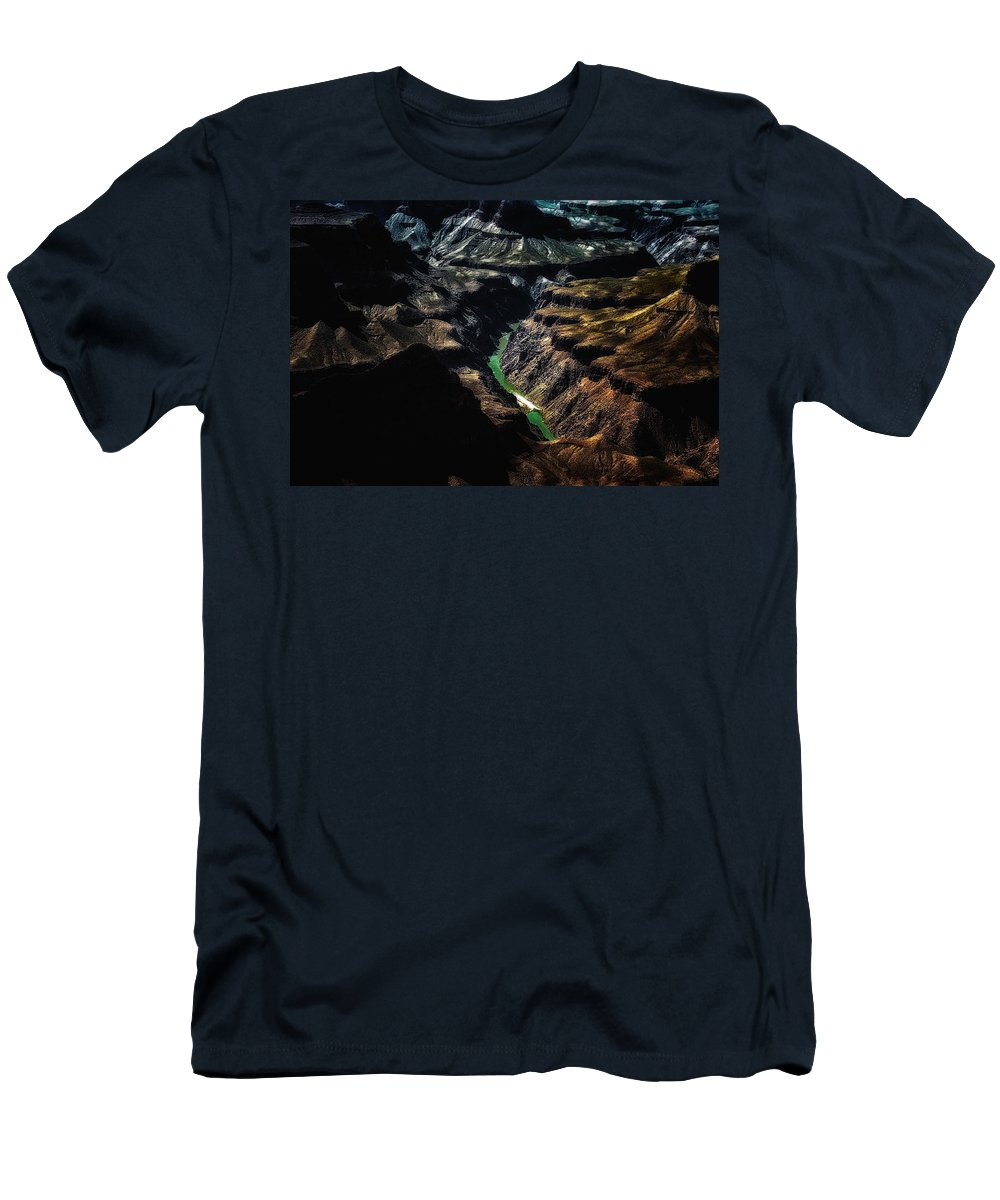 American Men's T-Shirt (Athletic Fit) featuring the photograph Grand Canyon 50 by Ingrid Smith-Johnsen