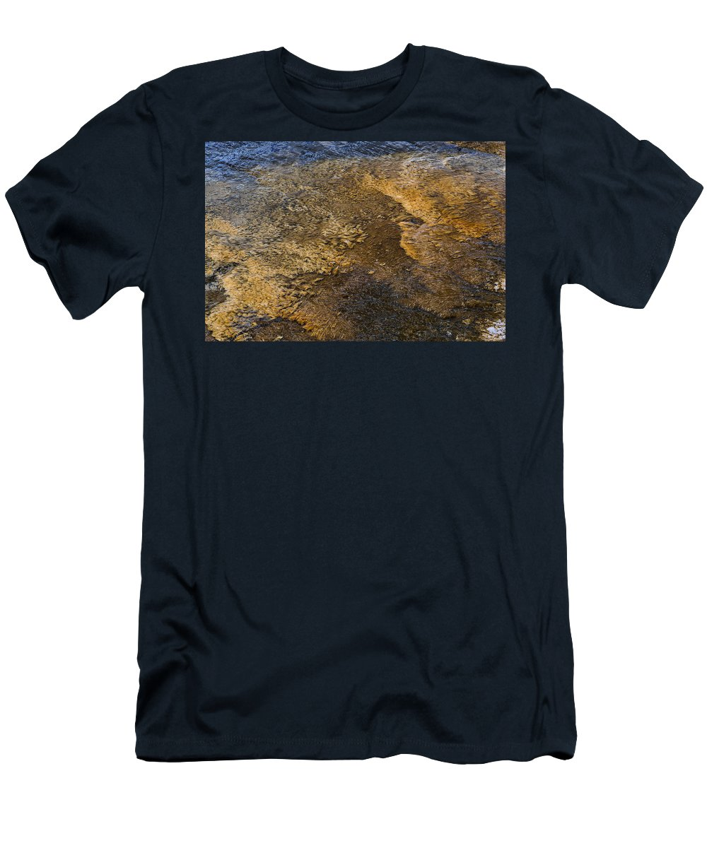 Water Men's T-Shirt (Athletic Fit) featuring the photograph Harmony by Nadalyn Larsen