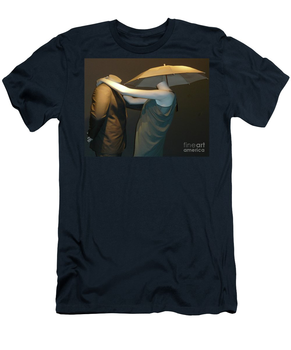 Abstract Men's T-Shirt (Athletic Fit) featuring the photograph Head Over Heels by Lauren Leigh Hunter Fine Art Photography