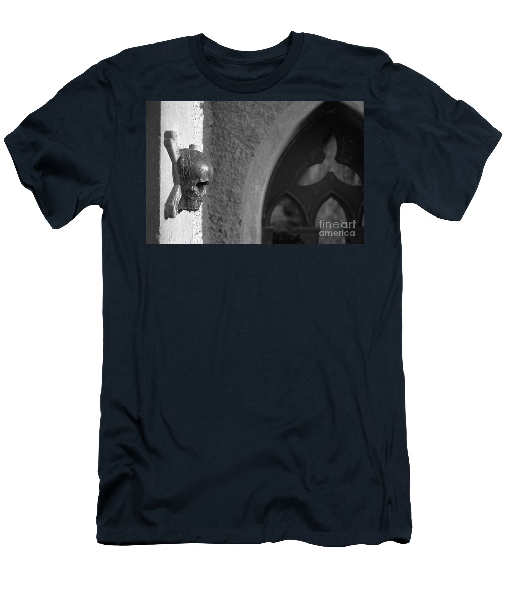 Skull Men's T-Shirt (Athletic Fit) featuring the photograph Memento Mori by Riccardo Mottola