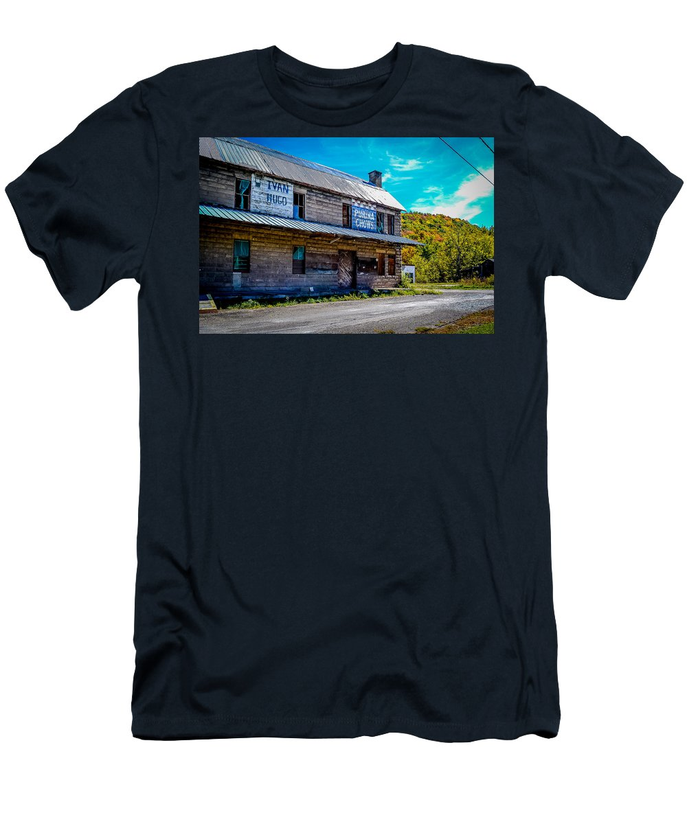 Men's T-Shirt (Athletic Fit) featuring the photograph Mill by Michael Brooks