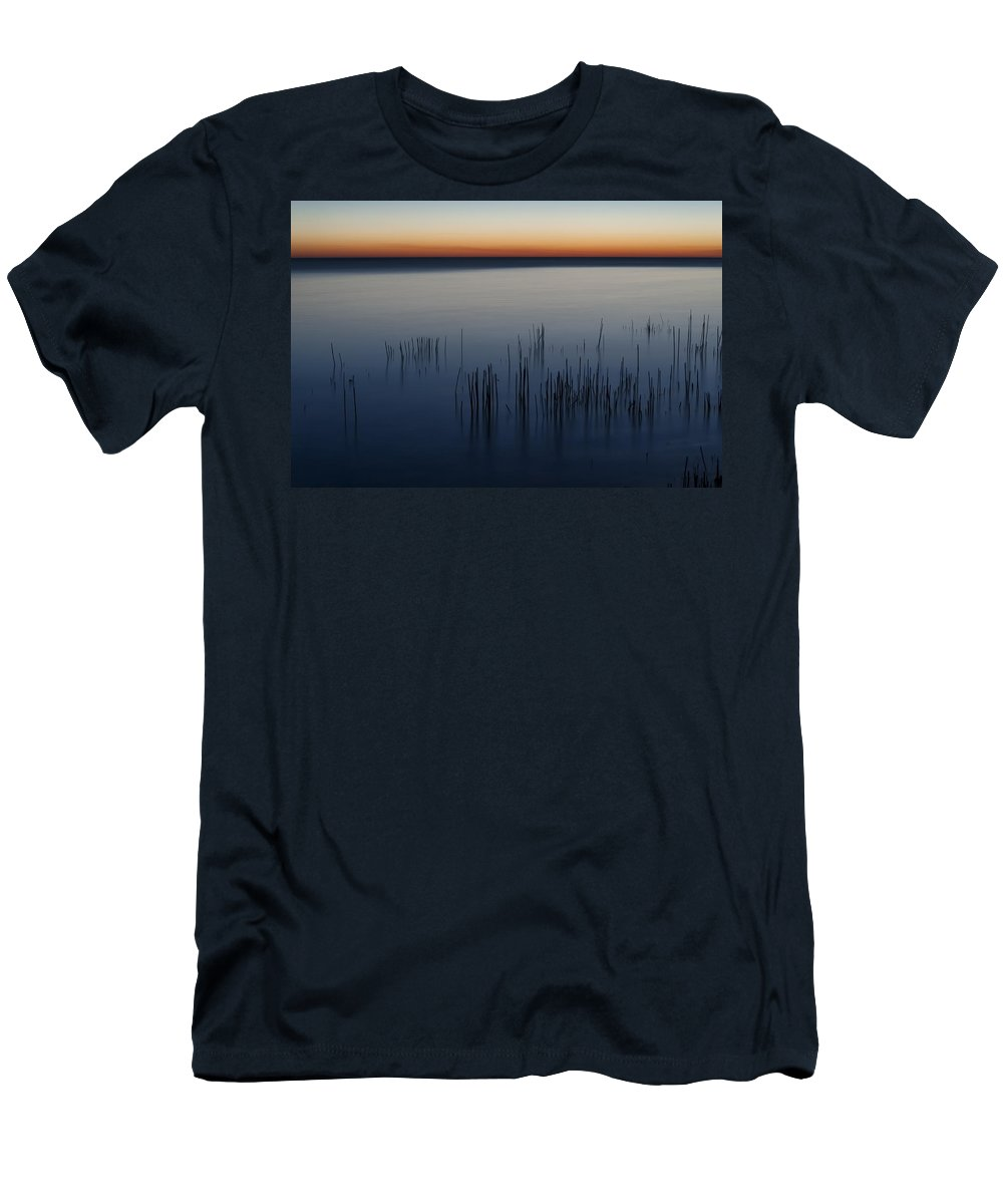 Dawn Men's T-Shirt (Athletic Fit) featuring the photograph Morning by Scott Norris
