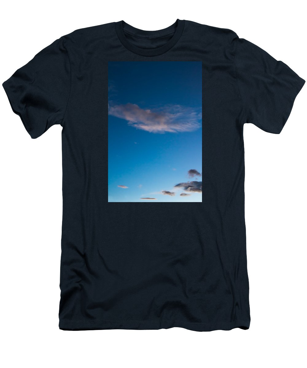 Sky Men's T-Shirt (Athletic Fit) featuring the photograph November Clouds 008 by Agustin Uzarraga