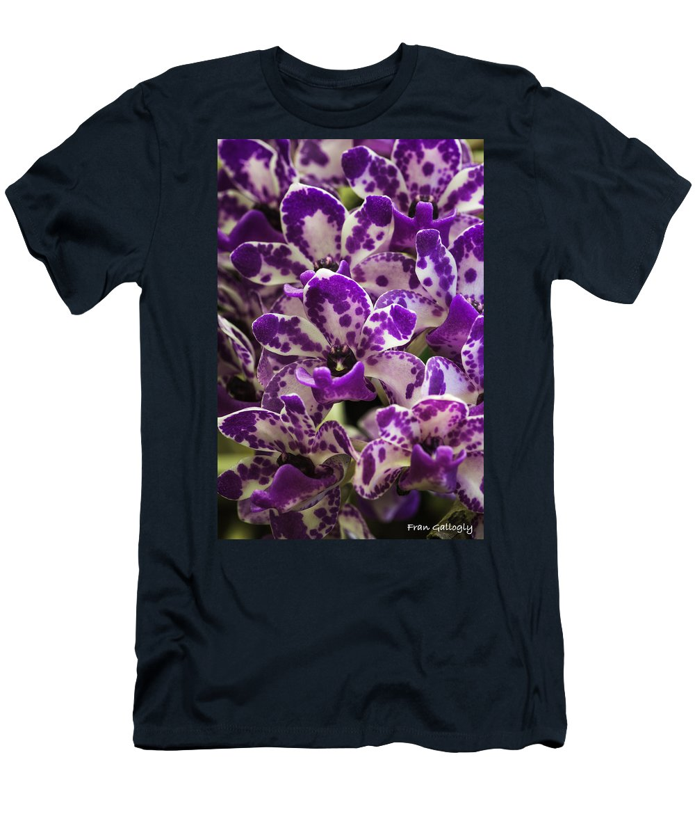 Orchid Men's T-Shirt (Athletic Fit) featuring the photograph Orchid Grouping by Fran Gallogly