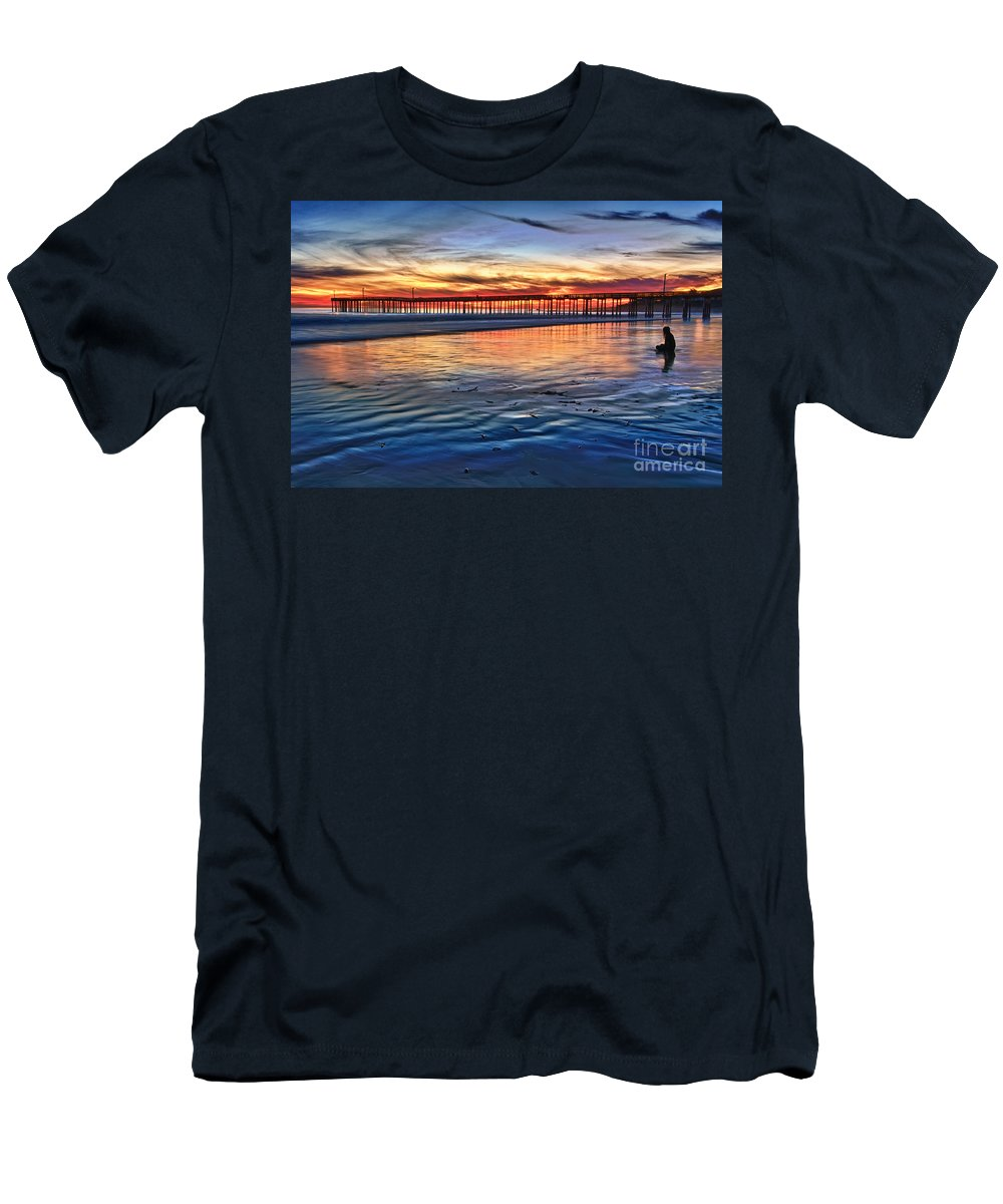Peace Men's T-Shirt (Athletic Fit) featuring the photograph Peace by Beth Sargent