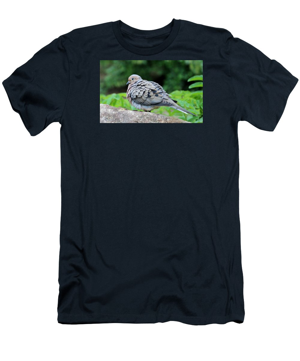 Feather Men's T-Shirt (Athletic Fit) featuring the photograph Ruffled Feathers by Cynthia Guinn