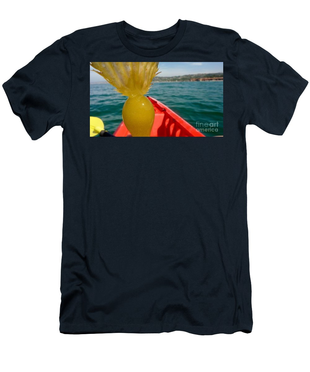 Sea Kayaking Men's T-Shirt (Athletic Fit) featuring the photograph Sea Kayaking Find by Susan Garren