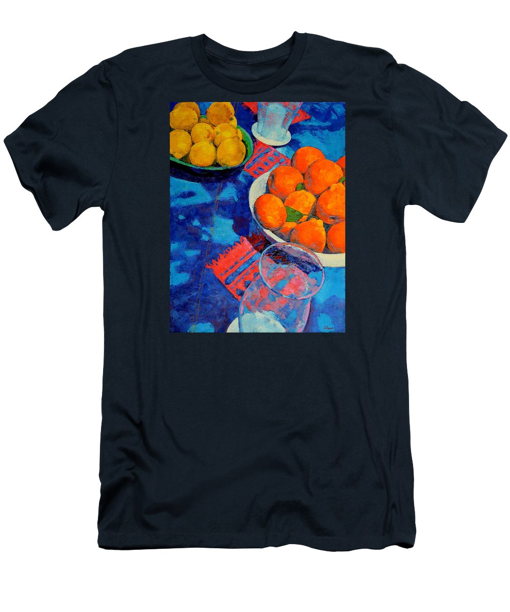 Still Life T-Shirt featuring the painting Still Life 2 by Iliyan Bozhanov