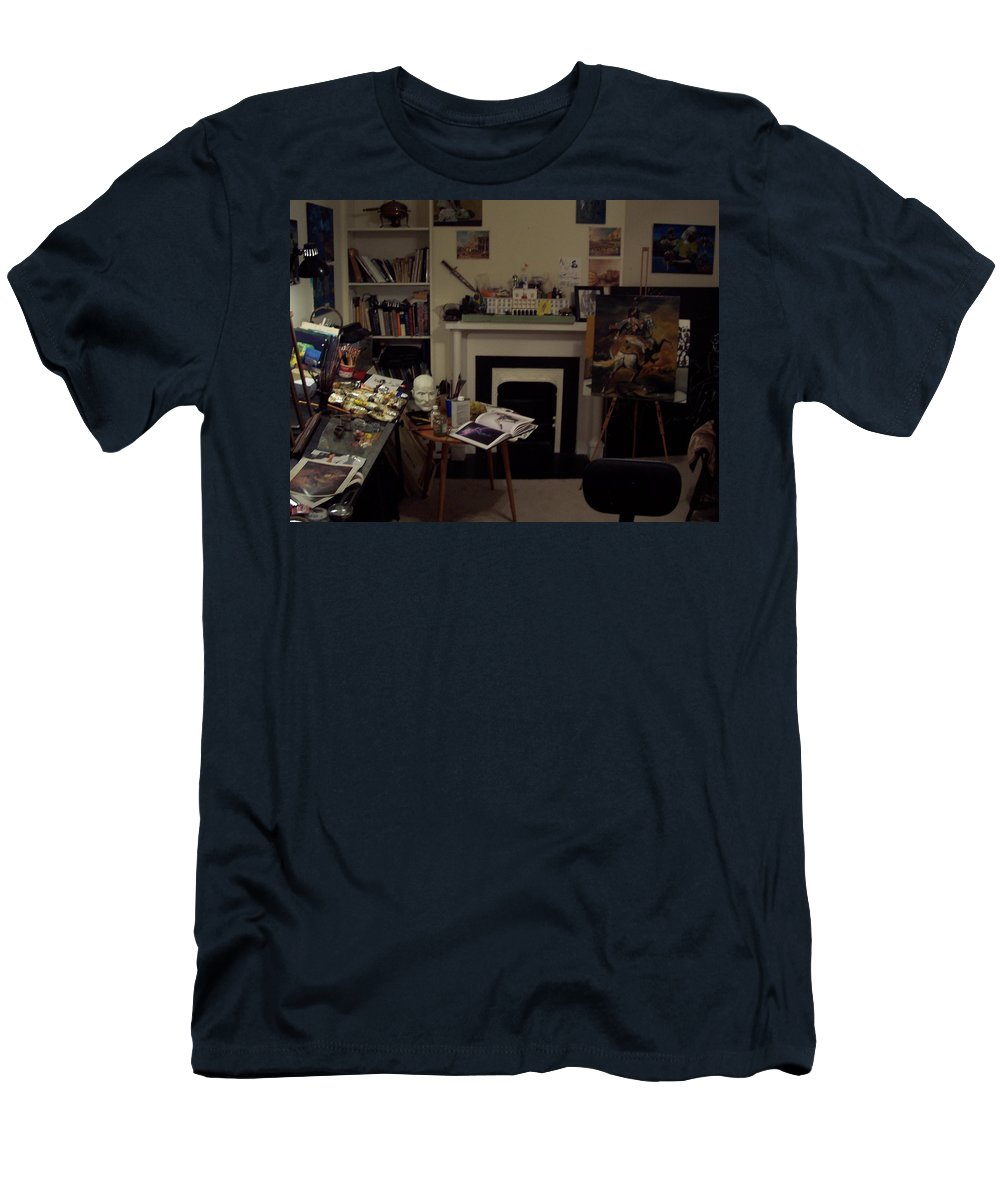 Men's T-Shirt (Athletic Fit) featuring the photograph Savannah 9studio by Jude Darrien