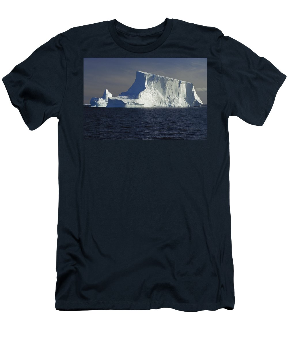 Feb0514 T-Shirt featuring the photograph Tabular Iceberg In Bransfield Strait by Gerry Ellis