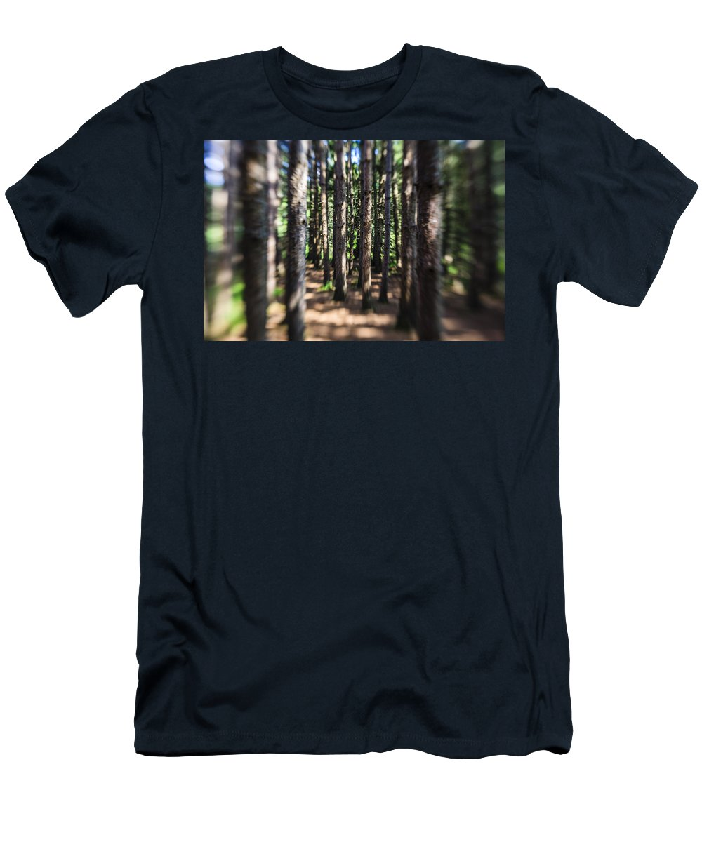Water Men's T-Shirt (Athletic Fit) featuring the photograph The Surreal Forest by Alex Potemkin