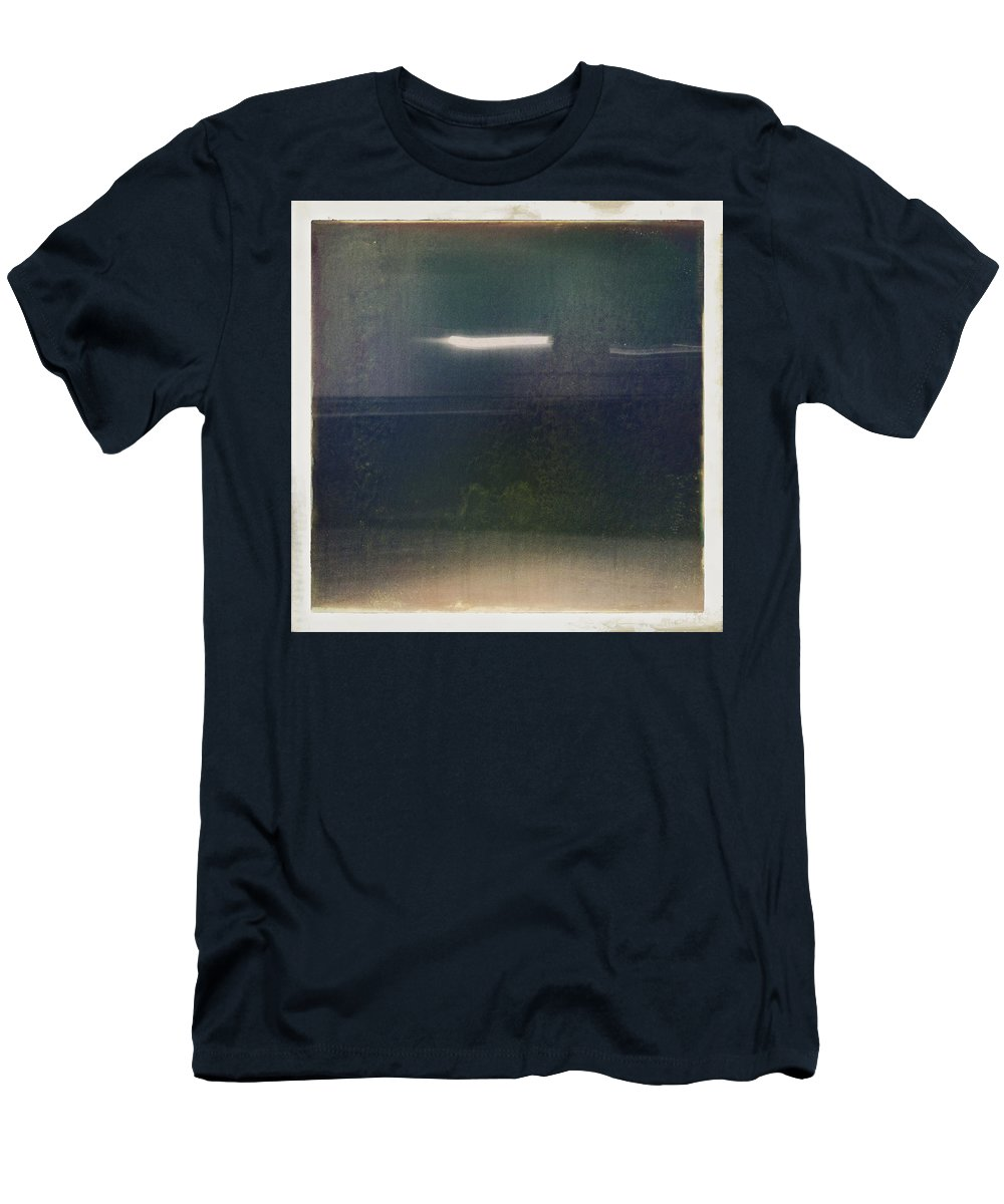 Abstract Men's T-Shirt (Athletic Fit) featuring the photograph Tunnel by H James Hoff