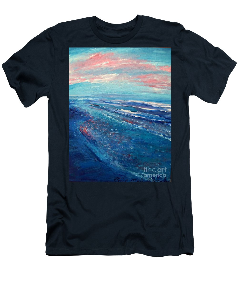 The Actor Men's T-Shirt (Athletic Fit) featuring the painting Twilight by Eric Schiabor
