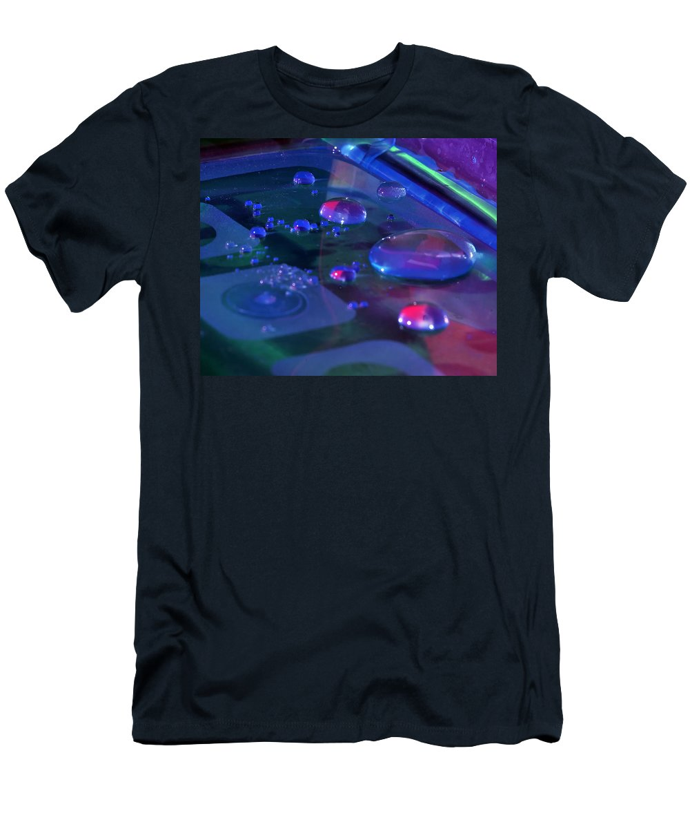 Water Men's T-Shirt (Athletic Fit) featuring the photograph Untitlede by Gene Tatroe