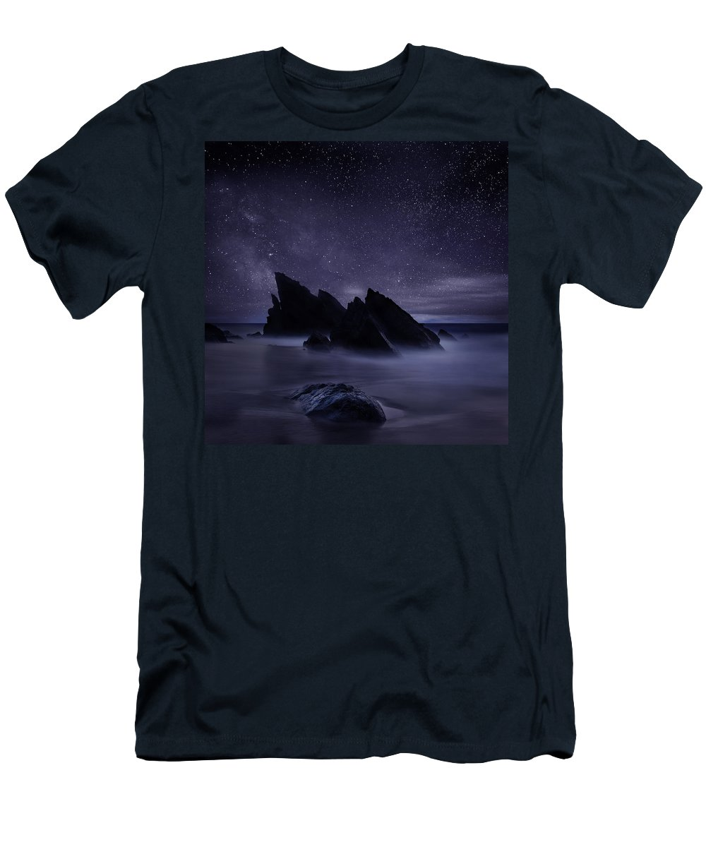 Night T-Shirt featuring the photograph Whispers of eternity by Jorge Maia