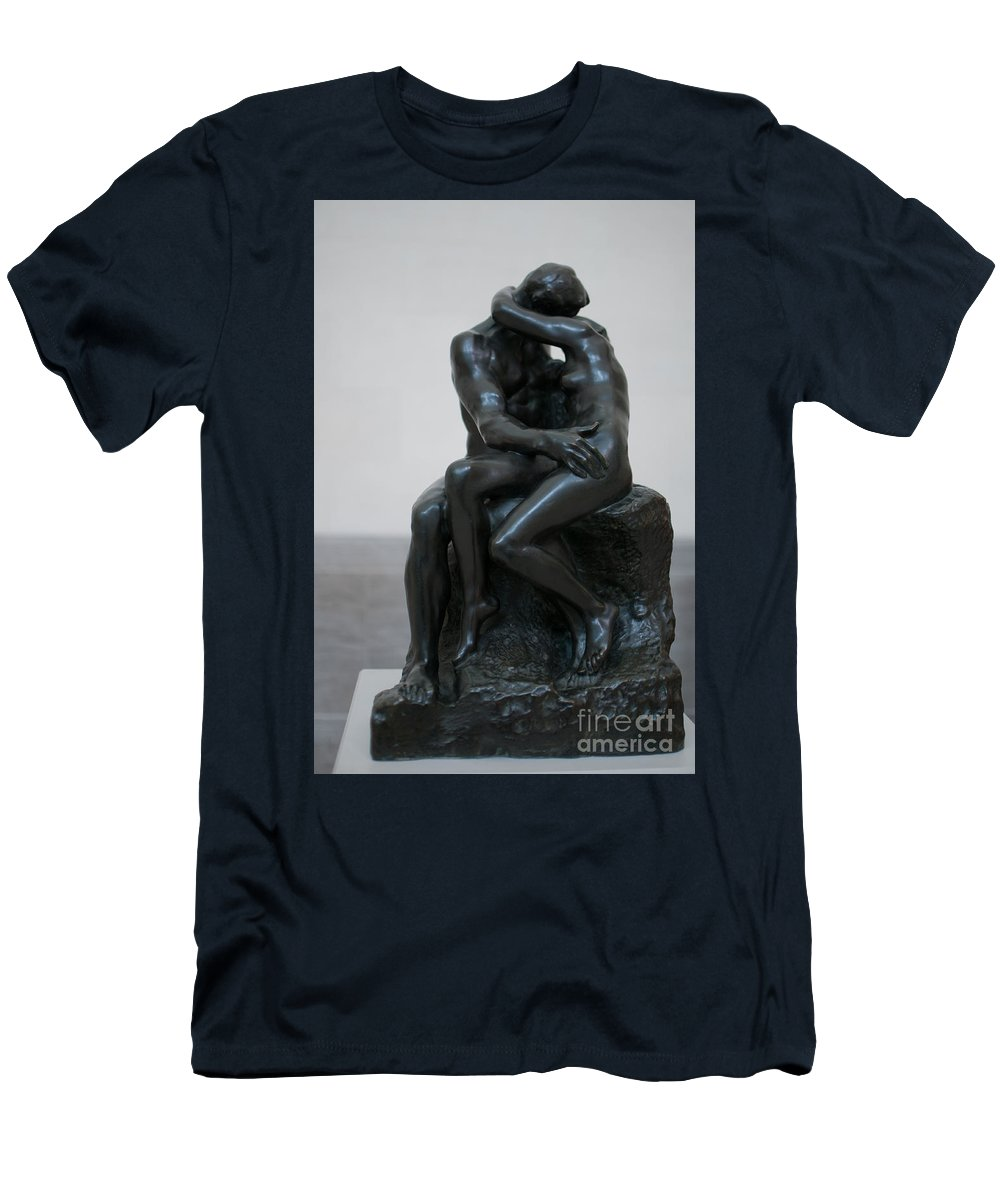 California Men's T-Shirt (Athletic Fit) featuring the digital art Legion Of Honor Museum San Francisco by Carol Ailles