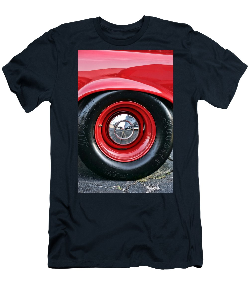 1964 Men's T-Shirt (Athletic Fit) featuring the photograph 1964 Plymouth Savoy by Gordon Dean II