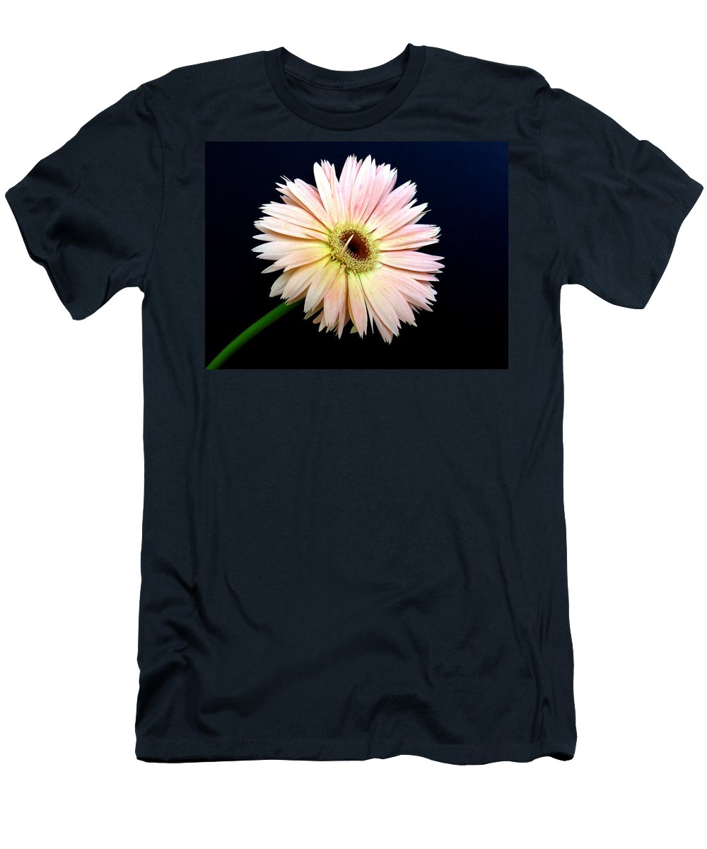 Gerbera Photographs Men's T-Shirt (Athletic Fit) featuring the photograph 61711a by Kimberlie Gerner