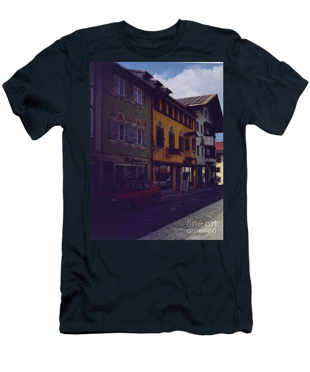 Germany Men's T-Shirt (Athletic Fit) featuring the photograph An Afternoon In Germany by Nancy Patterson