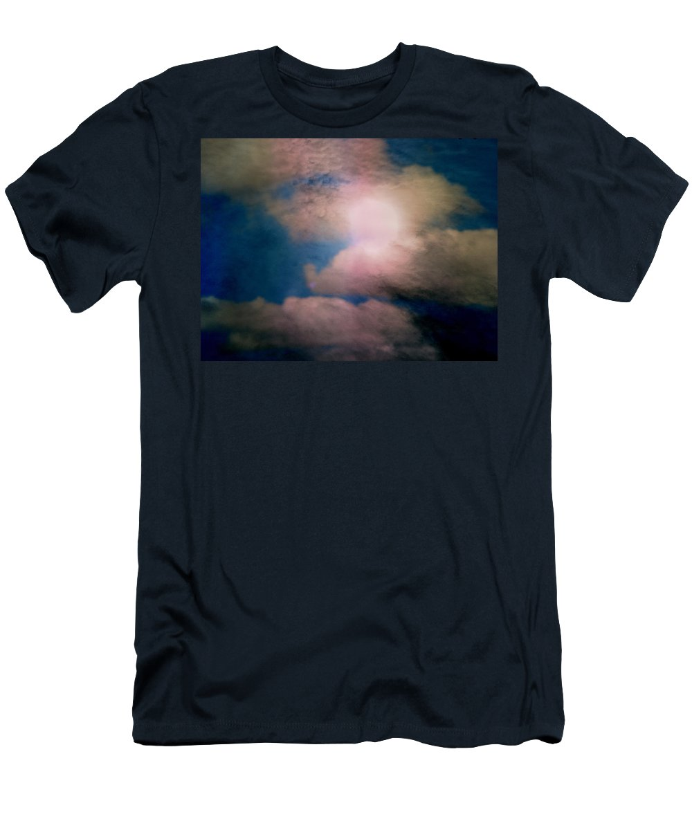 Expressive Men's T-Shirt (Athletic Fit) featuring the photograph An Impossible Sky by Lenore Senior