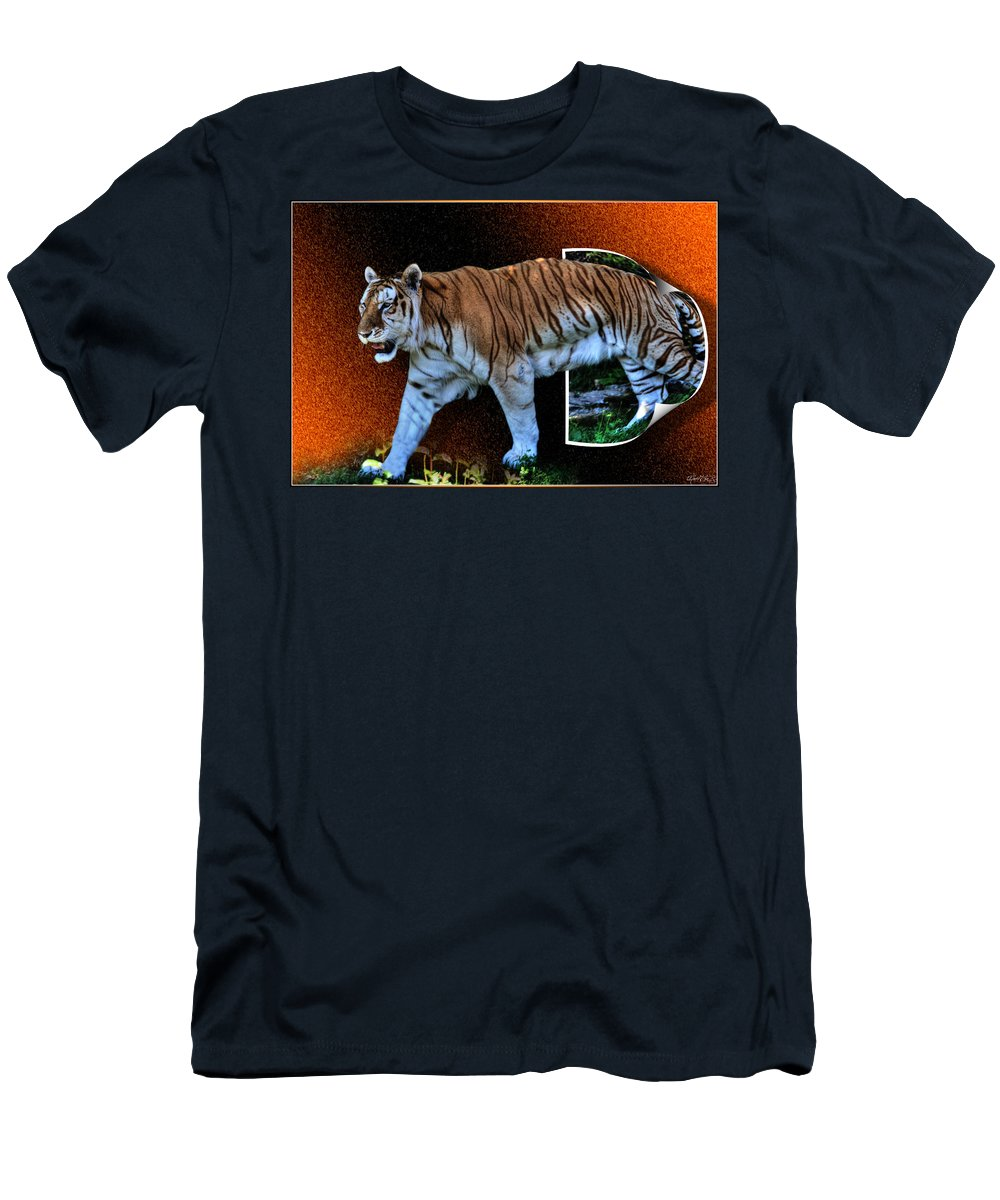 Men's T-Shirt (Athletic Fit) featuring the photograph Breaking Free by Michael Frank Jr