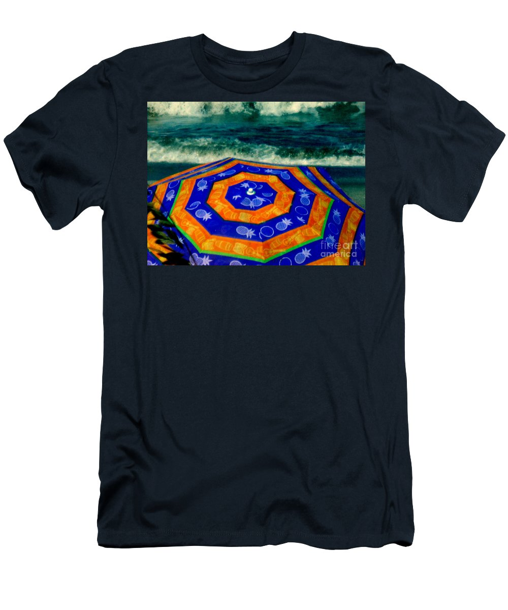 Ocean Men's T-Shirt (Athletic Fit) featuring the photograph Close To The Ocean by Susanne Van Hulst