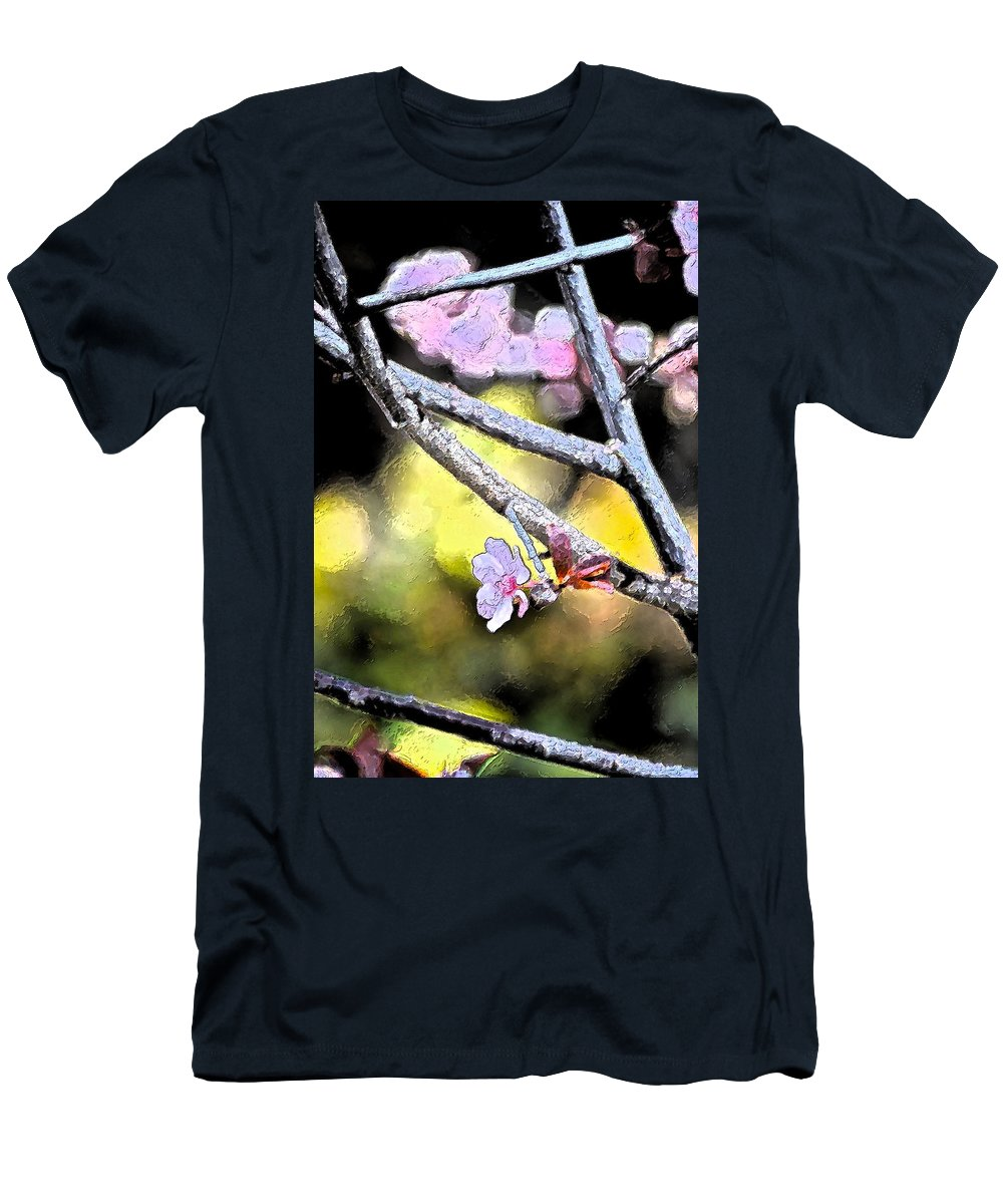 Tree Men's T-Shirt (Athletic Fit) featuring the photograph Color 62 by Pamela Cooper