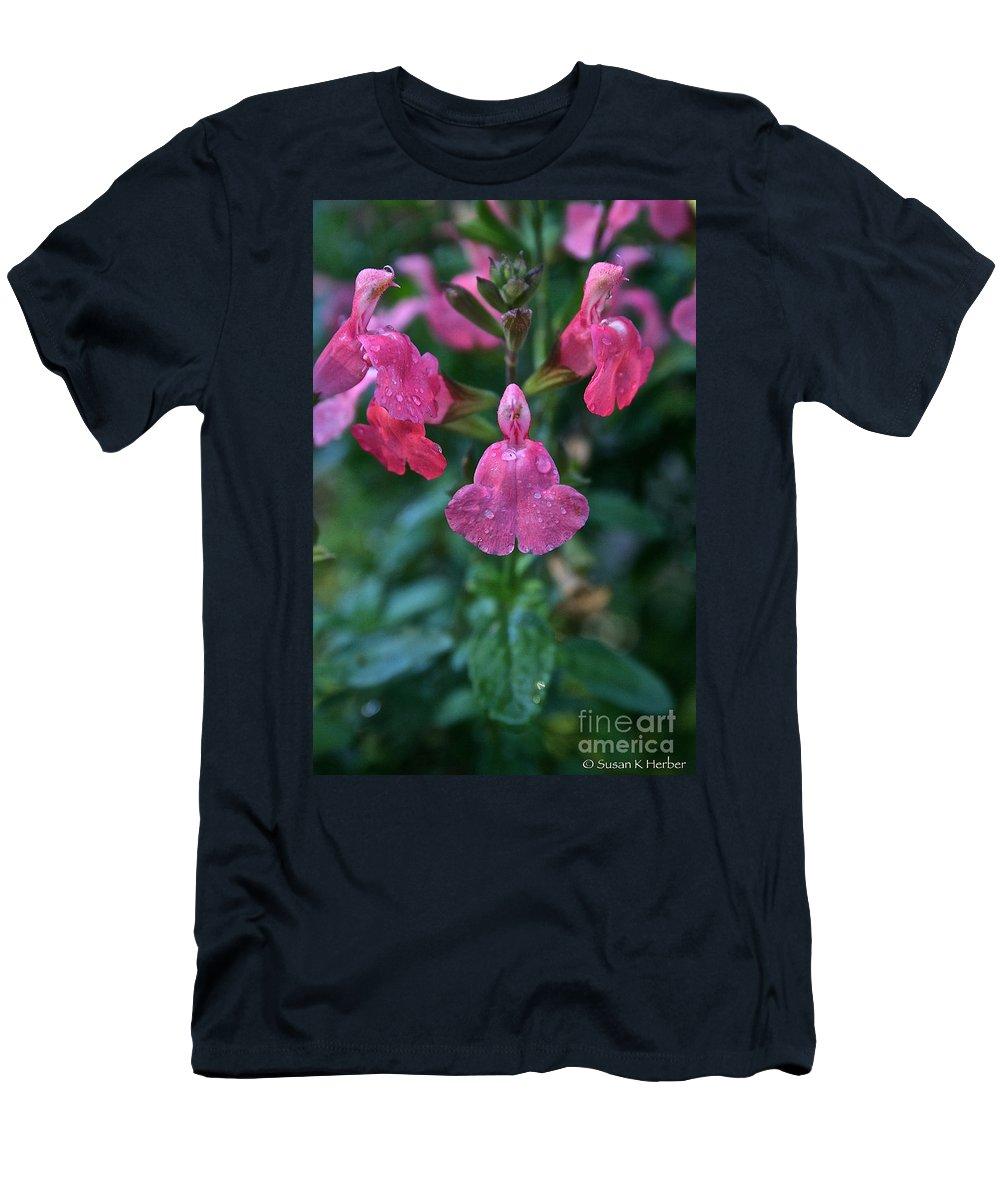 Landscape Men's T-Shirt (Athletic Fit) featuring the photograph Heatwave Blast Sage by Susan Herber