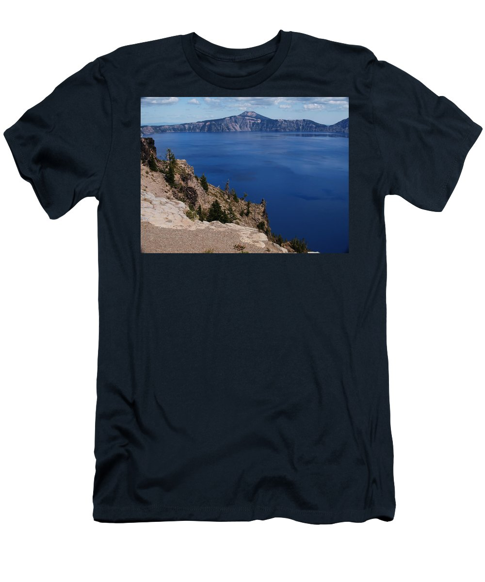 Sand Men's T-Shirt (Athletic Fit) featuring the photograph Just Another View by Teri Schuster