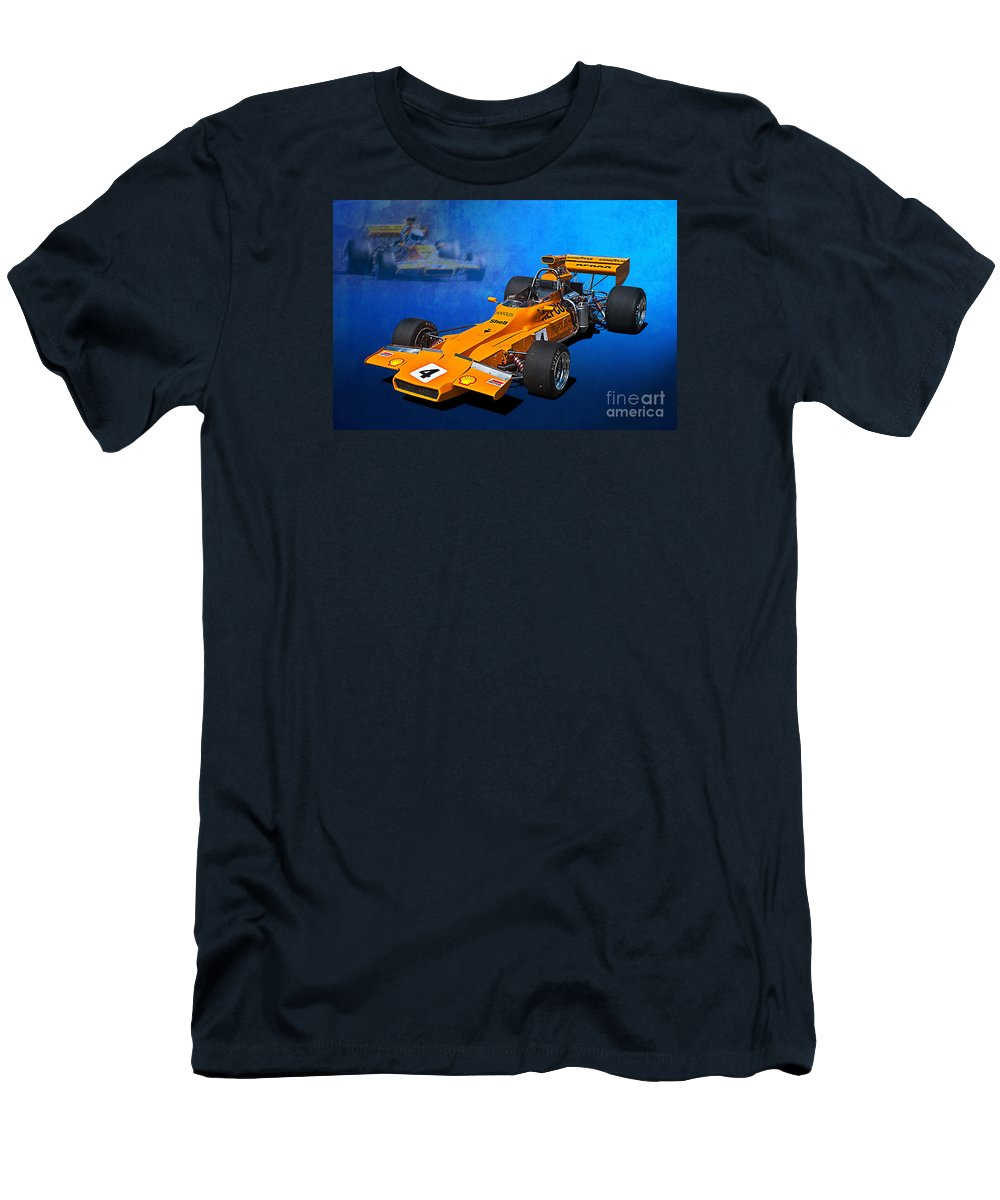 Bryan Sala Men's T-Shirt (Athletic Fit) featuring the photograph Matich A50 by Stuart Row