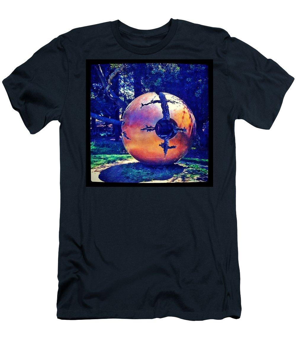 Art T-Shirt featuring the photograph Uc Berkeley Orb - Berkeley Ca by Anna Porter