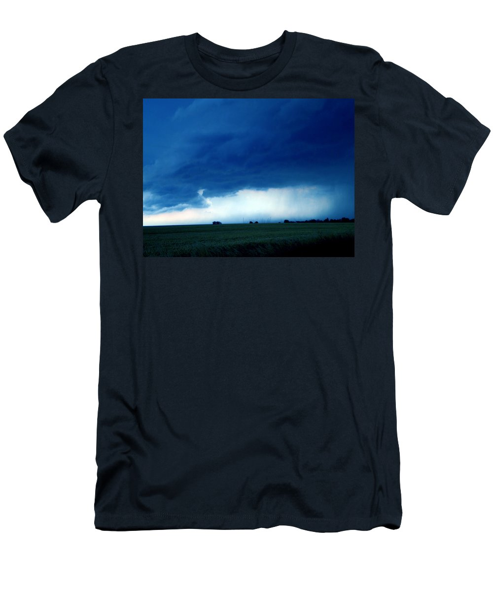 Colette Men's T-Shirt (Athletic Fit) featuring the photograph Weather Changes by Colette V Hera Guggenheim