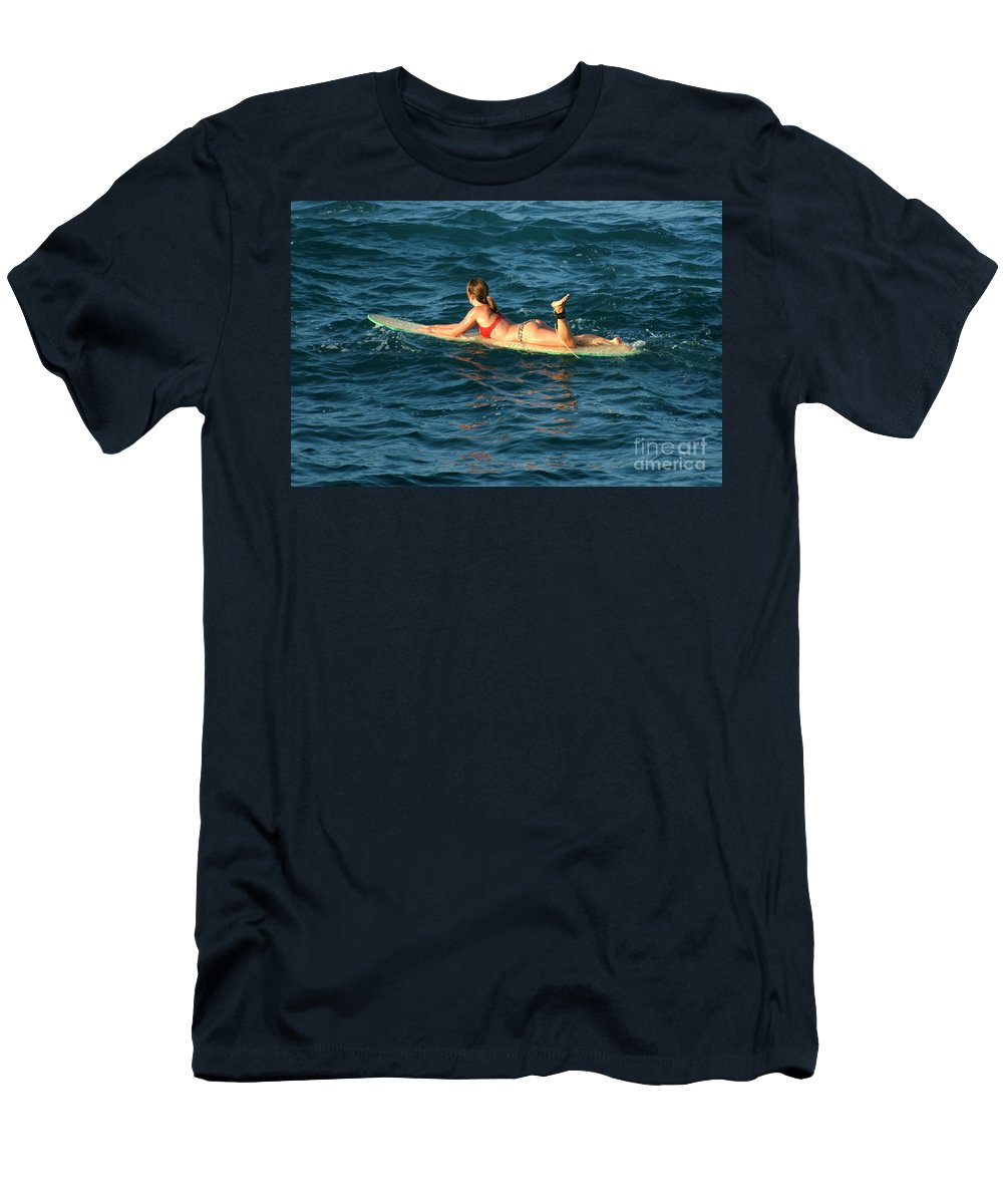 Winter Men's T-Shirt (Athletic Fit) featuring the photograph Winter In Hawaii 6 by Bob Christopher