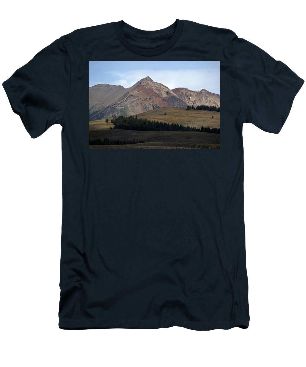 Lake Men's T-Shirt (Athletic Fit) featuring the photograph Emerald Lake by Marty Koch