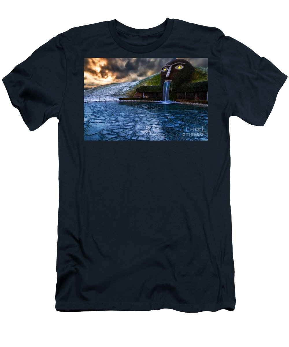 Austria Men's T-Shirt (Athletic Fit) featuring the photograph I See You by Konstantinos Lagos
