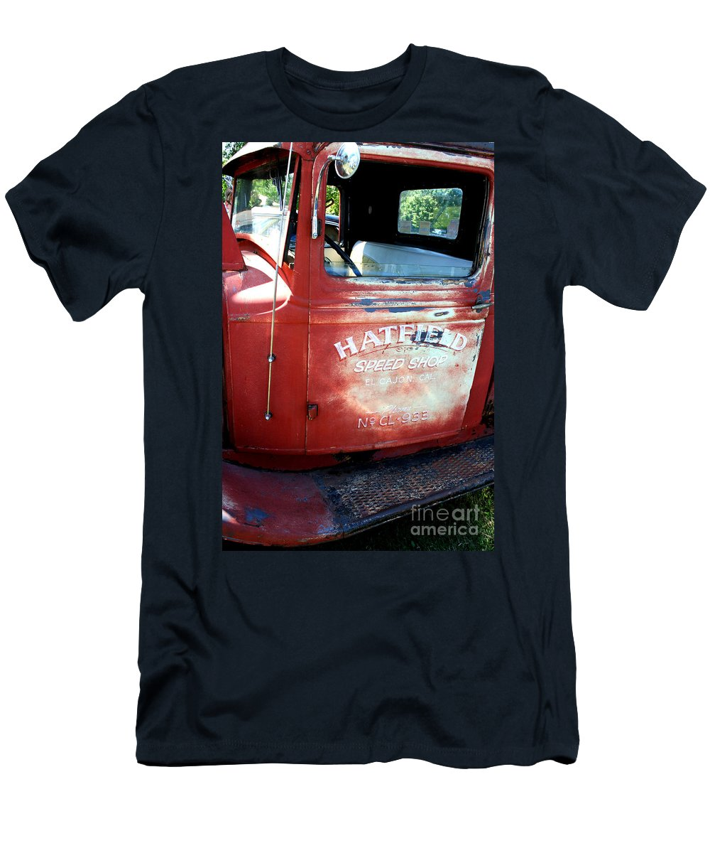Port Washington Men's T-Shirt (Athletic Fit) featuring the photograph I'ma Driven by Jamie Lynn