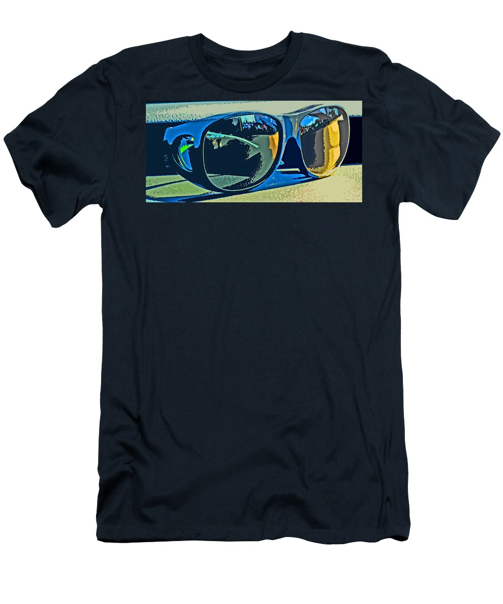 Sunglasses T-Shirt featuring the photograph Shades by Ian MacDonald