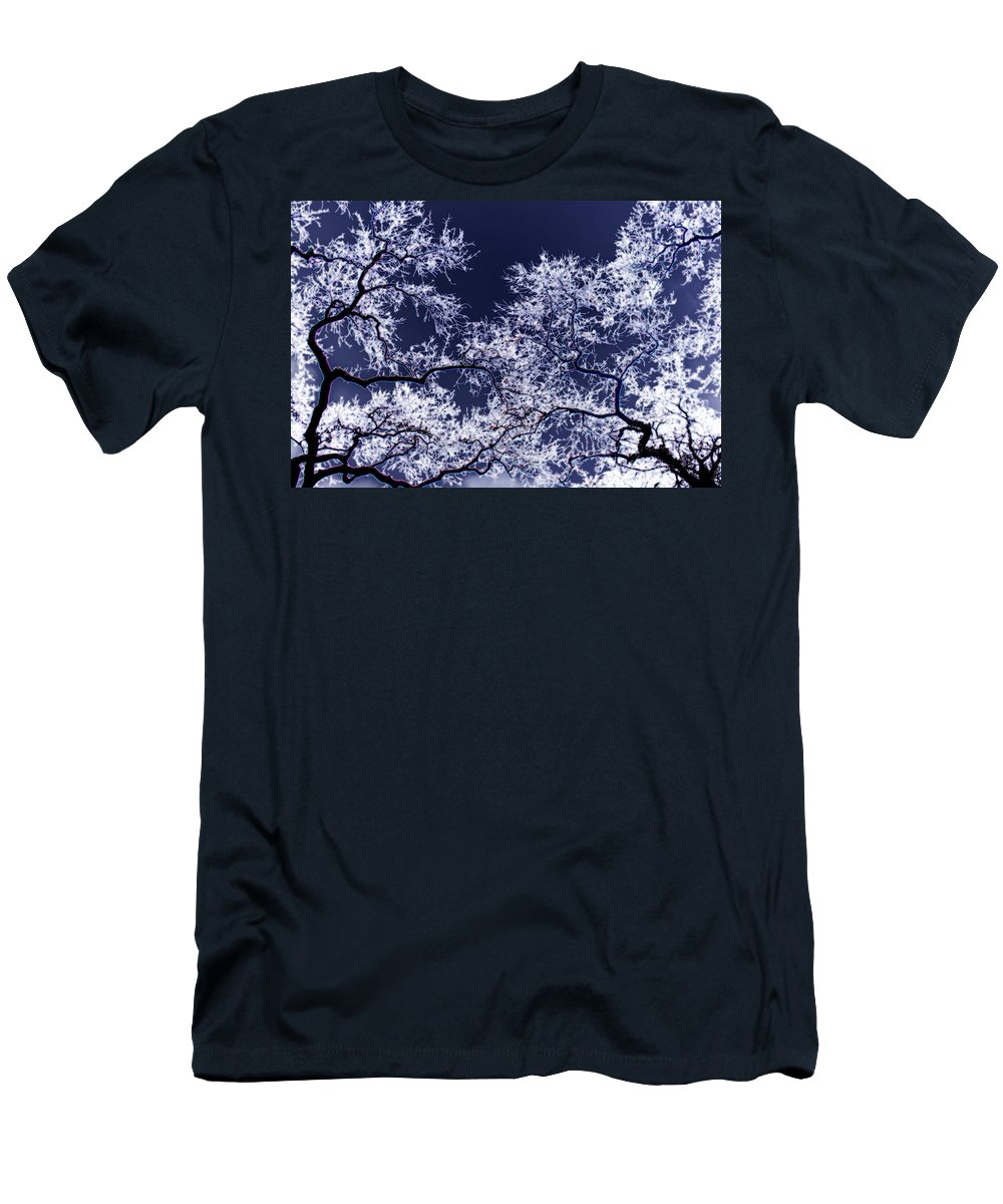 Tree Men's T-Shirt (Athletic Fit) featuring the photograph Tree Fantasy 17 by Lee Santa