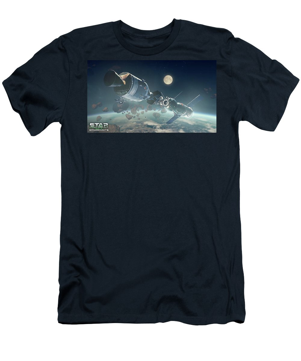 Video Game T-Shirt featuring the digital art Video Game by Maye Loeser