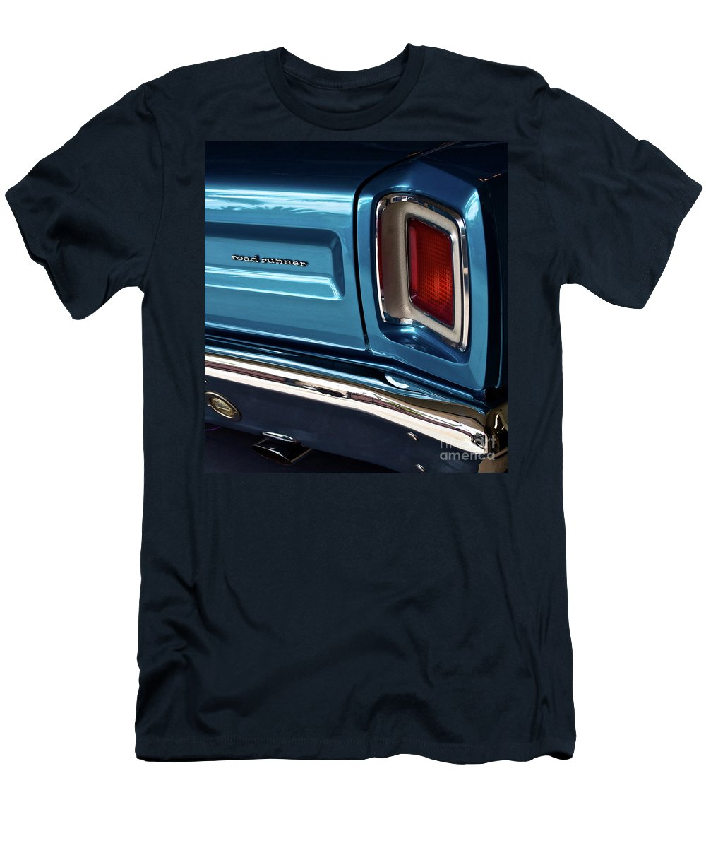 Plymouth Men's T-Shirt (Athletic Fit) featuring the photograph 1969 Plymouth Road Runner by Gwyn Newcombe