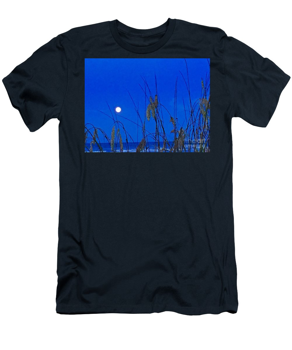 Night Men's T-Shirt (Athletic Fit) featuring the photograph Summer Night by Donna Cain