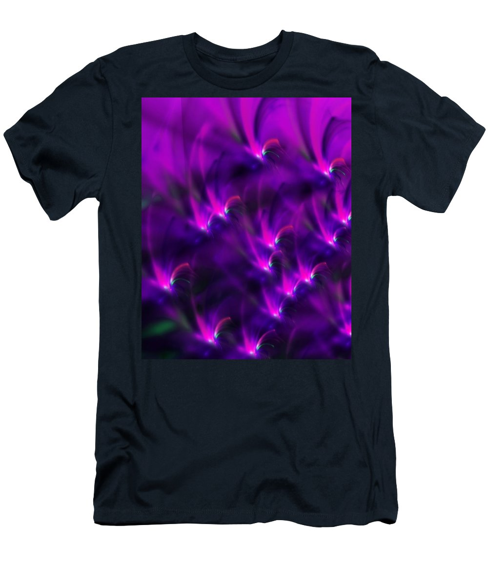 Abstract Men's T-Shirt (Athletic Fit) featuring the digital art Abstract 022611 by David Lane