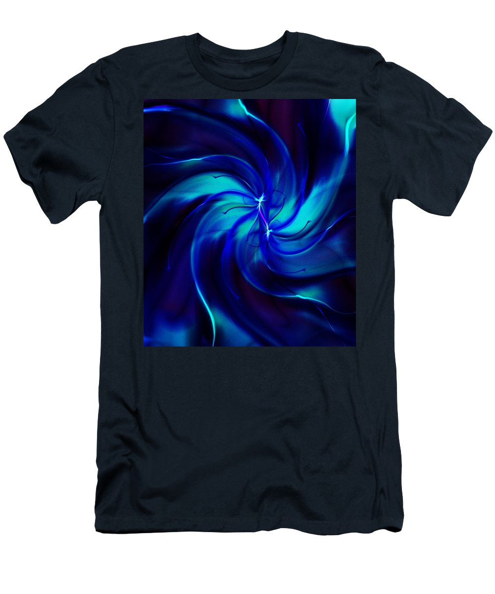 Abstract T-Shirt featuring the digital art Abstract 070810 by David Lane