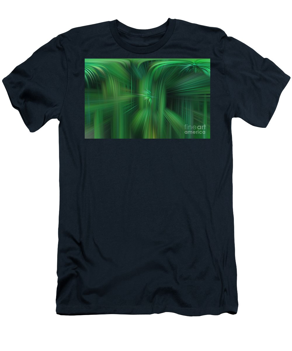 Art Men's T-Shirt (Athletic Fit) featuring the photograph Abstract 0902 H by Howard Roberts